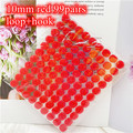 Red 10mm 99Pairs
