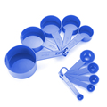 10pcs 7 Color Measuring Cups And Measuring Spoon Scoop Silicone Handle Kitchen Measuring Tool FreeShipping preview-4