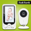 TakTark 4.3 inch Wireless Video Baby Monitor Sitter portable Baby Nanny Security Camera IR LED Night Vision intercom preview-1