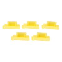 5pcs Yellow