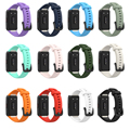 Silicone Strap For Huawei Band 6/6 Pro Strap With TPU Full Screen Protector Case Replacement Watchband For Honor Band 6 Strap preview-5