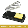 Electric Soldering Iron Stand Holder with Welding Cleaning Sponge Pads Generic High Temperature Resistance preview-3