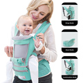 Ergonomic Baby Carrier Infant Kid Baby Hipseat Sling Front Facing Kangaroo Baby Wrap Carrier for Baby Travel 0-36 Months preview-2