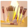13/9 Pcs Makeup Brushes Professional Eyeshadow Brush Eyeliner Eyelash Lip Make Up Brush With Gift Bag Makeup Tool Maquiagem preview-4