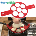 Pancake Maker Egg Ring Maker Nonstick Easy Fantastic Egg Omelette Mold Kitchen Gadgets Cooking Tools Silicone preview-1