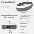 Smart eye massage myopia health care air compression heating eye massage electric massager full body massage preview-3