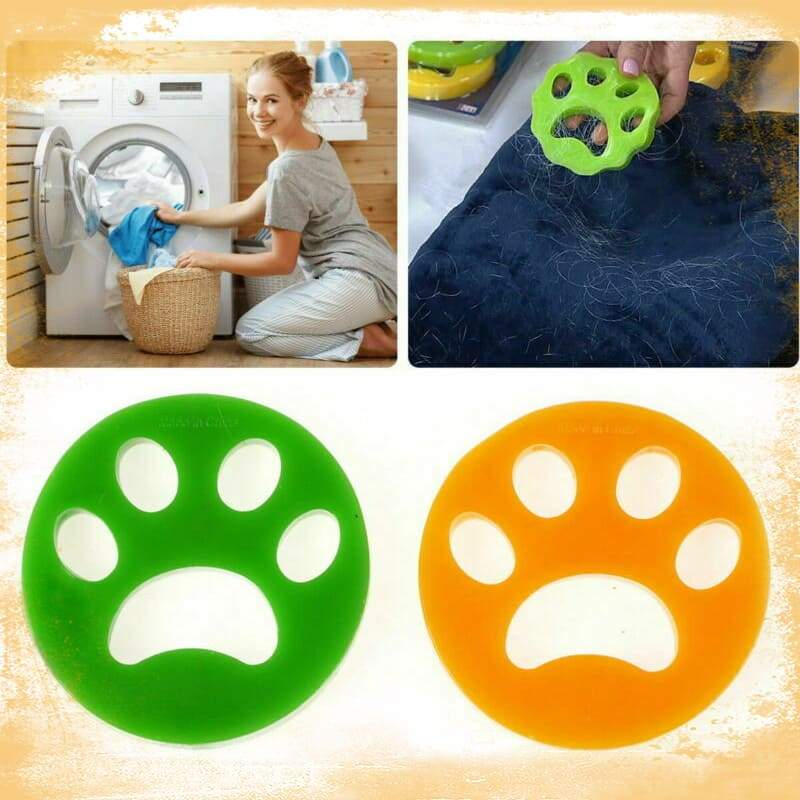 New Pet Sticky Hair Remover Silicone Self-cleaning Pet Cotton Hair Catching Collector Clothes Household Cleaning Dropshipping