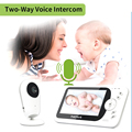 TakTark 4.3 inch Wireless Video Baby Monitor Sitter portable Baby Nanny Security Camera IR LED Night Vision intercom preview-4
