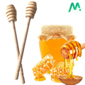 2PCS Long Handle Wood Honey Stir Bar Practical Honey Mixing Stick Jar Spoon Supplies For Coffee Milk Tea Kitchen Tool preview-1