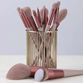 13pcs Professional Makeup Brush Set Soft Fur Beauty Highlighter Powder Foundation Concealer Multifunctional Cosmetic Tool Makeup preview-2