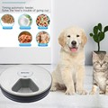 Round Timing Feeder Automatic Pet Feeder 6 Meals 6 Grids Cat Dog Electric Dry Food Dispenser 24 Hours Feed Pet Supplies 40%off preview-6