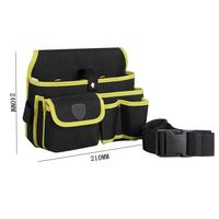 yellow tool bag