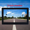 5 Inch Car Monitor TFT LCD Digital 800*480 16:9 Screen 2 Way Video Input or with Reverse Rear View Camera for Parking preview-6