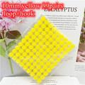 Yellow 10mm 99Pairs
