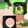 Avocado BB Cream Air Cushion Face Foundation Mushroom Head Concealer Whitening Base Makeup Cosmetic Waterproof Brighten 2021 New preview-6