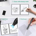 NeWYeS A4 Wet Erasable Reusable Smart Writing Notebook Black Waterproof Paper Auto-Scan Customized Gift Wire Bound Spiral Notes preview-3