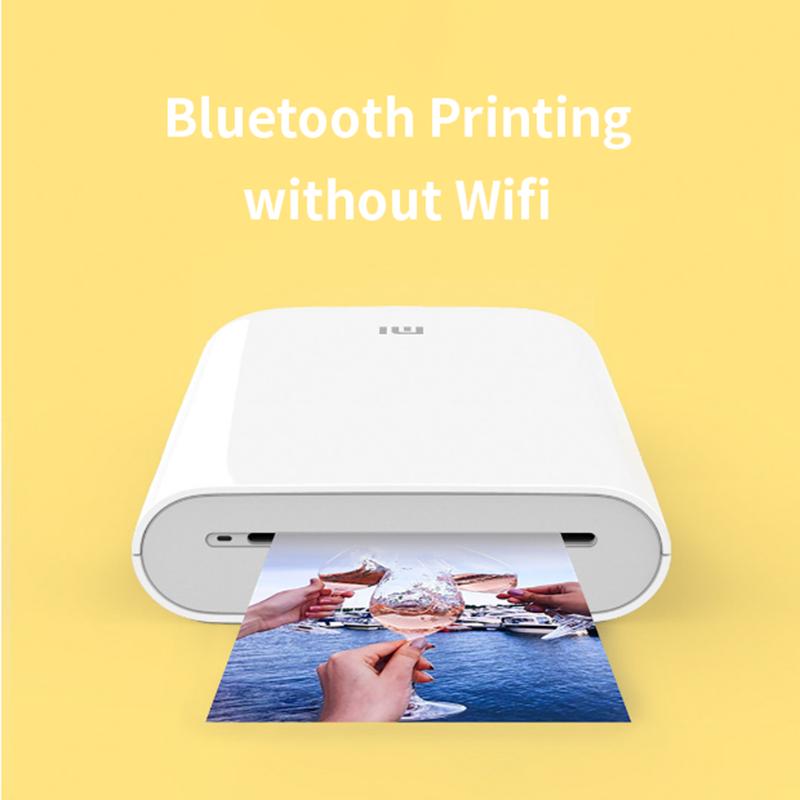 Global Version Xiaomi mijia AR Printer 300dpi Portable Photo Mini Pocket With DIY Share 500mAh picture pocket printer preview-4