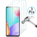 3 Sheets Screen Protector Glas For Samsung Galaxy A52 5G A51 A50 A03S A22 A12 A32 A72 M12 M22 M32 Transparent Clean Sklo Cover preview-1