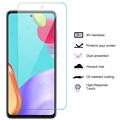 3 Sheets Screen Protector Glas For Samsung Galaxy A52 5G A51 A50 A03S A22 A12 A32 A72 M12 M22 M32 Transparent Clean Sklo Cover preview-2