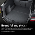 Leather trunk For Tesla model y trunk mat accessories model Y tesla Y accessoires All-inclusive back box cushion 7pcs/set preview-6