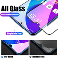 4Pcs Full Cover Tempered Glass For Xiaomi Redmi Note 9 8 7 9S 10 Pro Max Screen Protector For Poco F3 X3 M3 X3 Pro NFC Glass preview-5