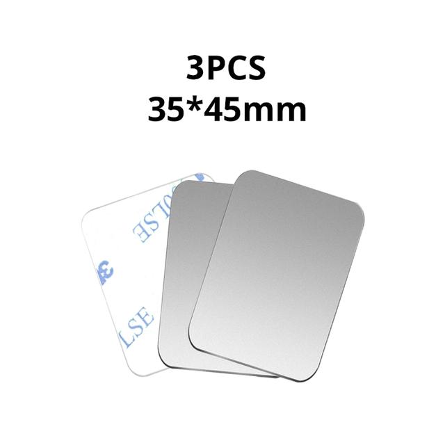 3PCS Silver 35x45
