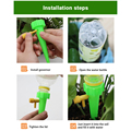 Automatic Drip Irrigation System Self Watering Spike for Plants Flower Greenhouse Garden Adjustable Auto Water Dripper Device preview-4