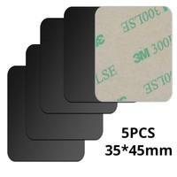 5pcs Black 35x45mm