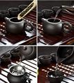 Handmade Purple Clay Kung Fu Tea Set Yixing Teapot Drinkware Tea Pot Cup Set ,Zisha Ceramic Chinese puer Teaset kettle preview-6