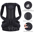 Posture Corrector for Men and Women Back Posture Brace Clavicle Support Stop Slouching and Hunching Adjustable Back Trainer preview-4