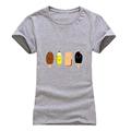 T shirt women Fashion summer colour Popsicle print short sleeve t-shirts comfortable brand cotton women tee tops preview-2