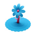 Multicolor Sunflower Dustproof Reusable Silicone Anti-dust Cap Cup Lid DIY Leakproof Cover Insulation Cup Cover preview-4