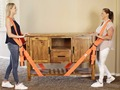 New Useful Lifting Moving Strap Furniture Transport Belt In Shoulder Straps Team Straps Mover Easier Conveying Storage Orange preview-6