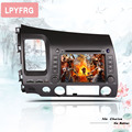 8 inch 4G android 10 car dvd gps player for honda civic 2006-2011 Auto radio player gps navigation car sat navi 2din dvd System preview-6