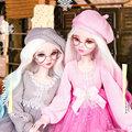 Lifelike Fashion Girl 1/3 Bjd Doll Full Set 60cm Large Original Handmade Ball Jointed Dolls Children Toys For Girl Birthday Gift preview-1