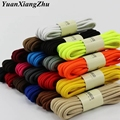 1Pair Round Solid Shoelaces Top Quality Polyester Shoes Lace Solid Classic Round Shoelace Sneakers Boots Shoes String YD-1 preview-1