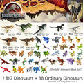 Jurassic World Park Dinosaurs Family Building Blocks Affordable Set Tyrannosaurus Rex Educational Toys Gift For Children preview-1