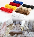 1Pair Round Solid Shoelaces Top Quality Polyester Shoes Lace Solid Classic Round Shoelace Sneakers Boots Shoes String YD-1 preview-6