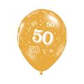10pcs gold 50