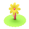 Multicolor Sunflower Dustproof Reusable Silicone Anti-dust Cap Cup Lid DIY Leakproof Cover Insulation Cup Cover preview-6