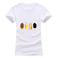 T shirt women Fashion summer colour Popsicle print short sleeve t-shirts comfortable brand cotton women tee tops preview-1