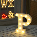 Luminous LED Letter Night Light Creative 26 English Alphabet Number Battery Lamp Wedding Decoration Valentine's Day Gift preview-4