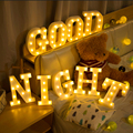 Luminous LED Letter Night Light Creative 26 English Alphabet Number Battery Lamp Wedding Decoration Valentine's Day Gift preview-3