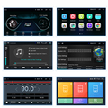 """1DIN Adjustable Universal 10.1"""" Car Stereo Radio 1GBRam 16GBRom 1080p Touch Screen Gas Wifi preview-6"""