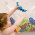 Baby Bathroom Mesh Bag for Bath Toys Bag Kids Basket for Toys Net Cartoon Animal Shapes Waterproof Cloth Sand Toys Beach Storage preview-4