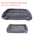 S-3XL 9 Colors Paw Pet Sofa Dog Beds Waterproof Bottom Soft Fleece Warm Cat Bed House Petshop cama perro preview-4