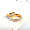 RIR Custom Name Gold Forever Love Wedding Rings Couple Eternity Engagement Heart and Crystal Men Women Ring In Stainless Steel preview-3
