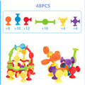 16-48pcs/set Pop Little Suckers Assembled Sucker Suction Cup Educational Building Block Toy Girl&Boy Kids Gifts Fun Game preview-10