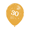 10pcs gold 30