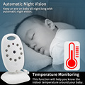 Wireless Video Baby Monitor 2.0 inch Color  Security Camera 2 Way Talk NightVision IR LED Temperature Monitoring with 8 Lullaby preview-2